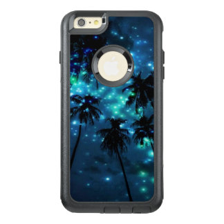 Teal Tropical Paradise iPhone 6 Plus Otterbox Case