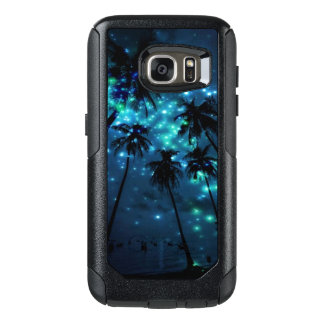 Teal Tropical Paradise Samsung Galaxy S7 Otterbox