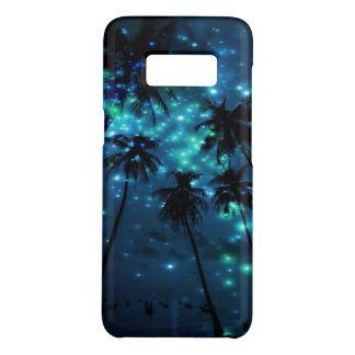 Teal Tropical Paradise Samsung Galaxy S8 Case