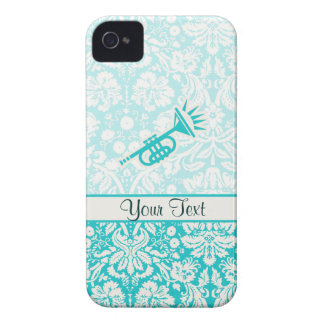 Teal Trumpet iPhone 4 Covers