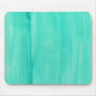 Teal Watercolor Mouse pad