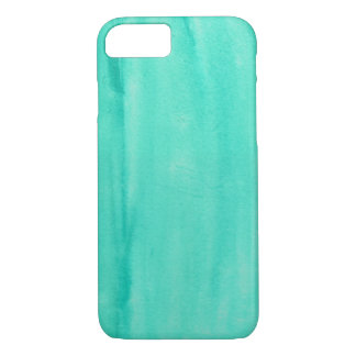 Teal Watercolor Phone Case