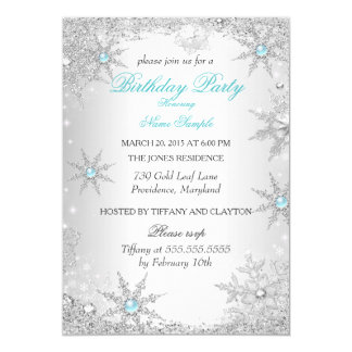 winter wonderland invitations  announcements  zazzle canada, Birthday invitations