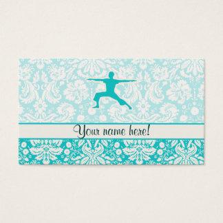 Teal Yoga Business Card