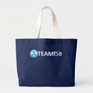 Team 50 jiyanbototo large tote bag