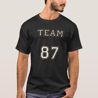 Team 87 Black Line T-Shirt