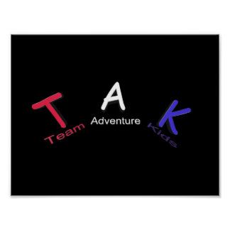 Team Adventure Kids Poster