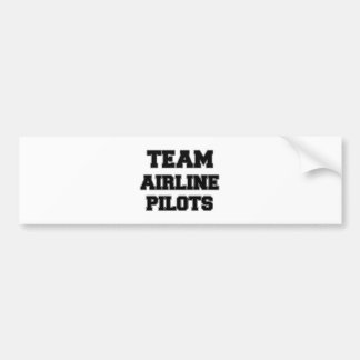 Team Airline Pilots Bumper Sticker