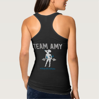 Team Amy Fitted Tank