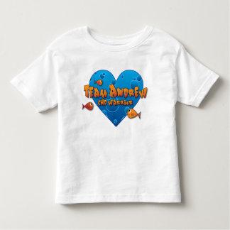 team andrew kid's t-shirt (white)