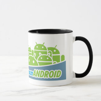 Team Android Mug - One of  Kind Coffee / Tea Cup