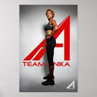 Team Anika Poster