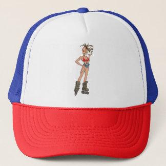 Team Apache Skater Girl Trucker Hat
