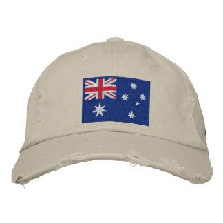 Team Australia 2012 Embroidered Baseball Caps