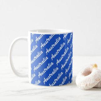 Team Australian coffee mug