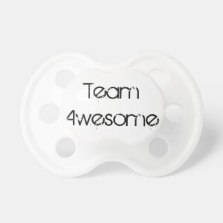 Team Awesome Pacifier