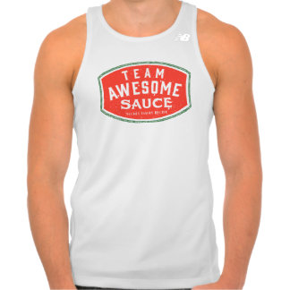 Team Awesome Sauce Tank Top