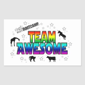 Team Awesome Sticker