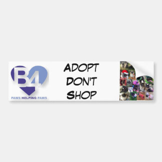 Team B4 Bumper Sticker