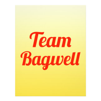 Team Bagwell Full Color Flyer