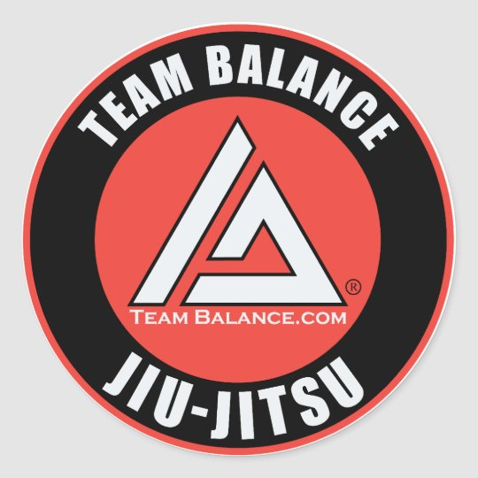 Team Balance Sticker