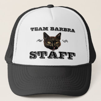 Team Barbra STAFF Trucker Hat