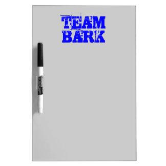 TEAM BARK dog walking reminder board Dry Erase Boards