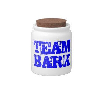 Team Bark Gear reward jar Candy Jar
