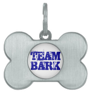 Team Bark official tag Pet ID Tag