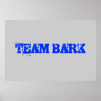 TEAM BARK poster