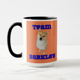 Team Barkley - 15 oz Ringer Mug