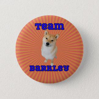Team Barkley - 2¼ Inch Round Button