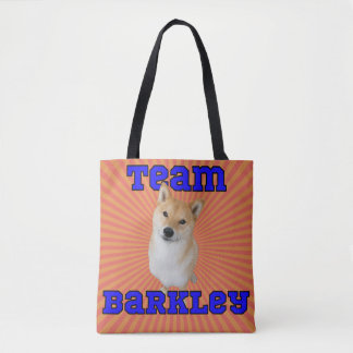 Team Barkley Tote Bag