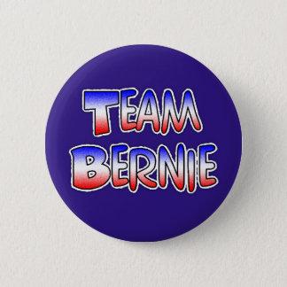 Team Bernie Sanders Patriotic Political Button