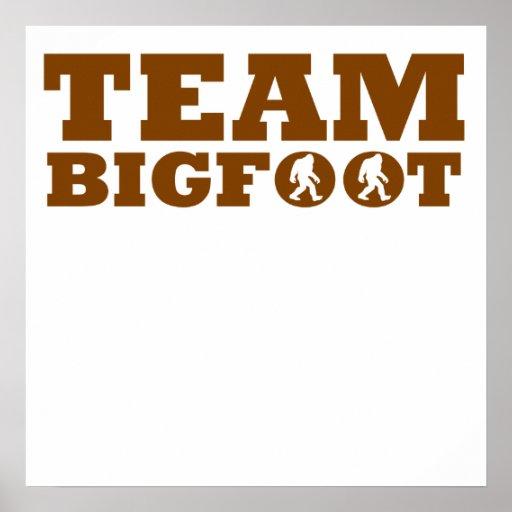 Team Bigfoot Poster