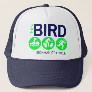 Team Bird Lime Trucker Hat