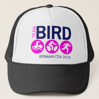 Team Bird Pink Trucker Hat