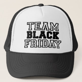 Team Black Friday Trucker Hat