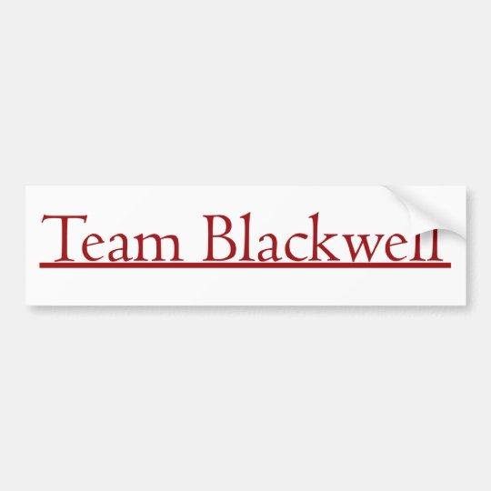 Team Blackwell Bumper Sticker