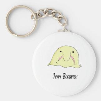 team blob basic round button keychain