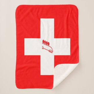Team Bobsled Switzerland Sherpa Blanket