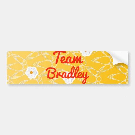 Team Bradley Bumper Stickers