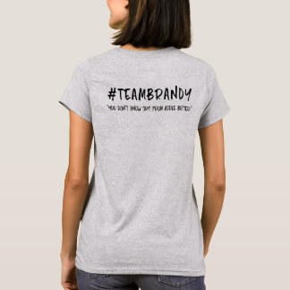 Team Brandy tee - Apple Butter