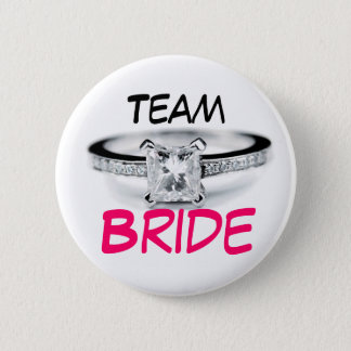 Team Bride 2 Inch Round Button