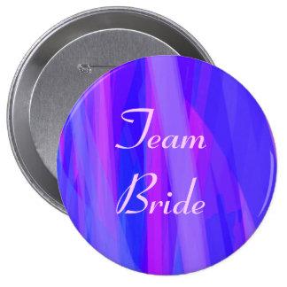 Team Bride 4 Inch Round Button