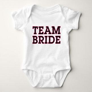 Team Bride Baby Tee