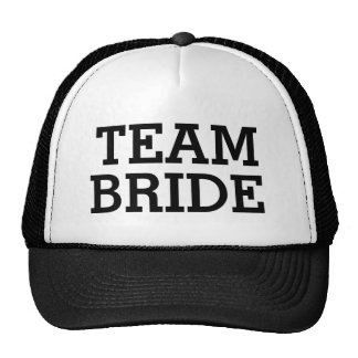 Team Bride Bachelorette Party or Wedding Day Hat