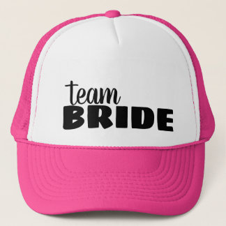 Team Bride Bachelorette Trucker Hat