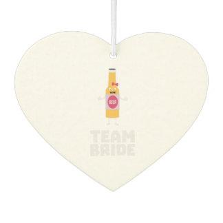 Team Bride Beerbottle Z5s42 Air Freshener