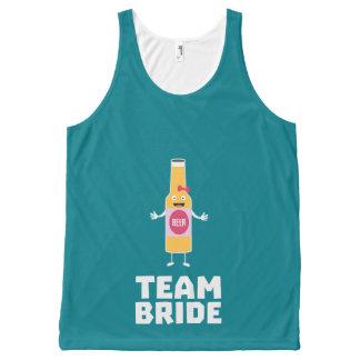 Team Bride Beerbottle Z5s42 All-Over-Print Tank Top